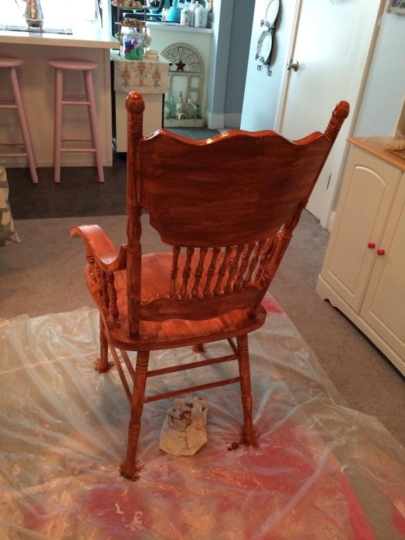 Base coat chair