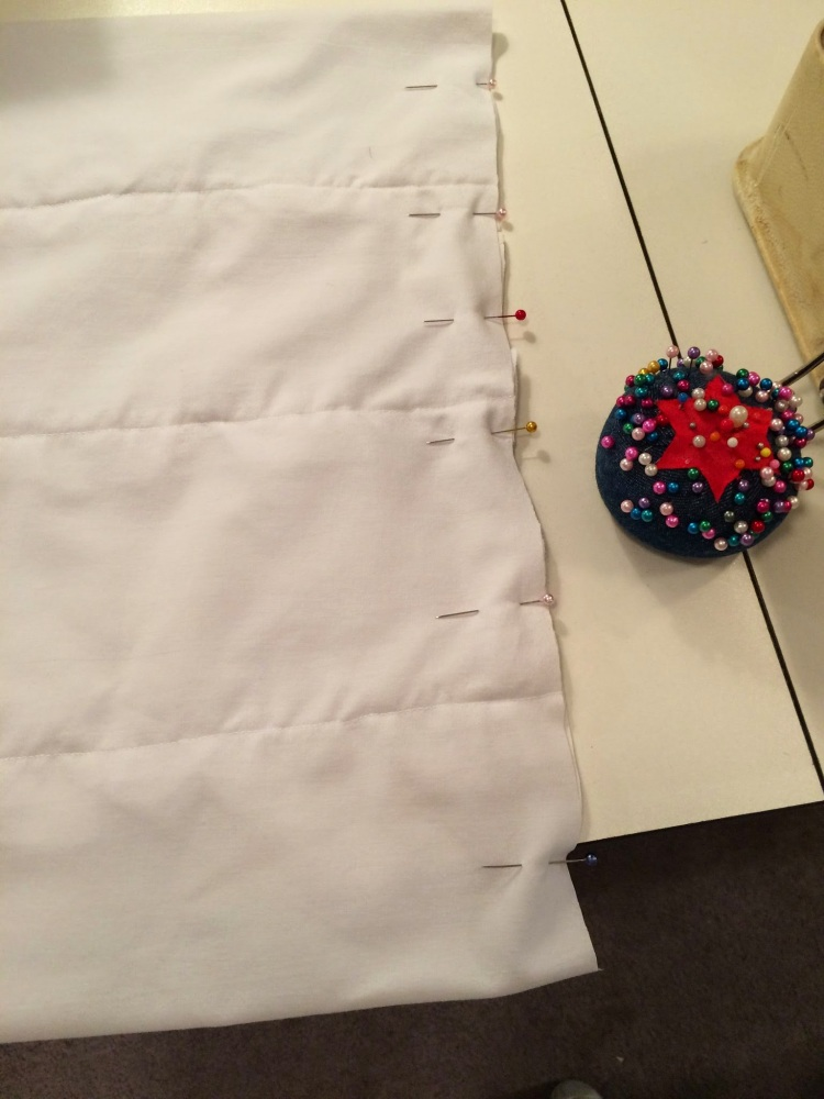 Making pillow covers and a new ornament (5/6)