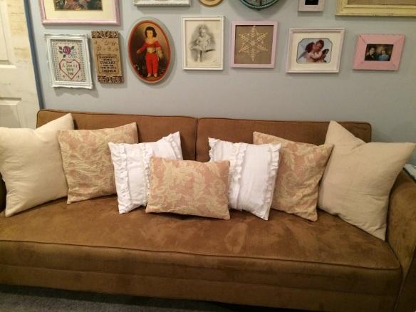 H pillows