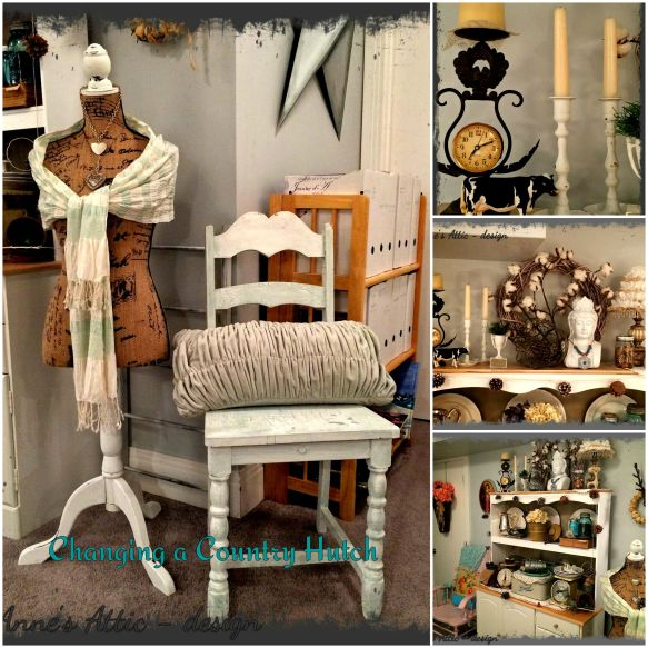 Country Hutch collage