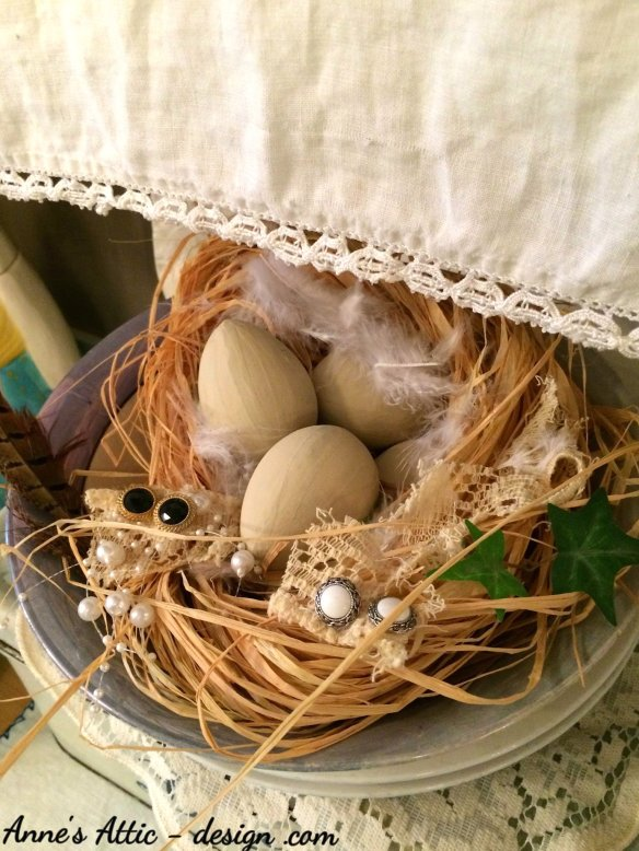 Easter nest bowl