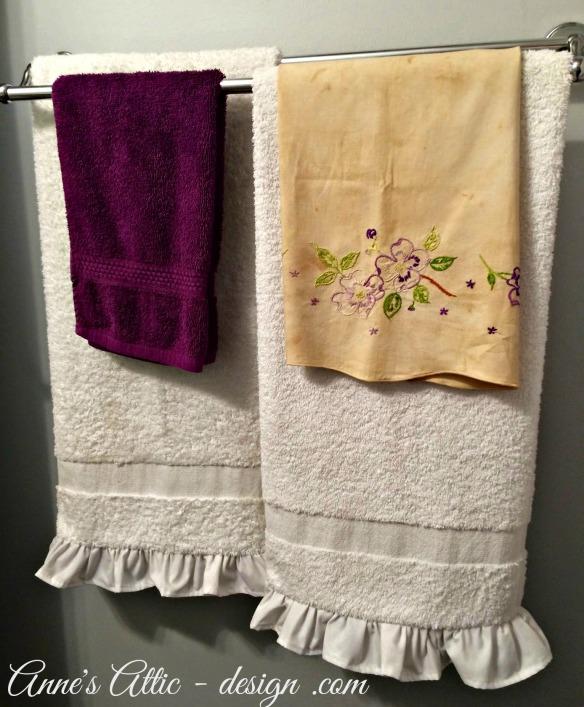 ruffles towels