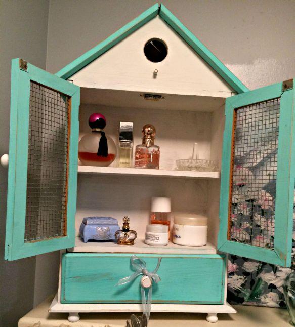 Etsy birdhouse open
