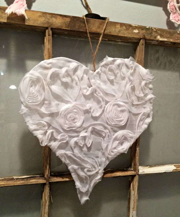 Etsy wire lace heart
