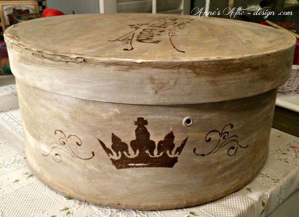hat box finished