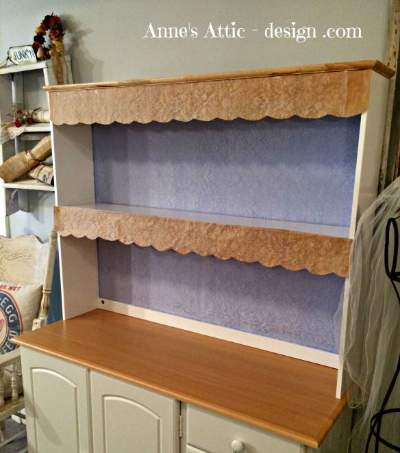 hutch lace finish