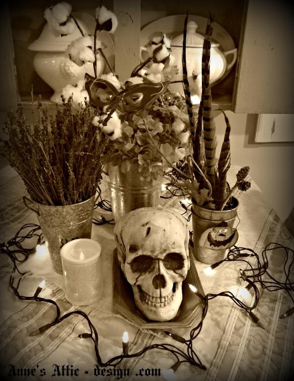 Halloween sjull