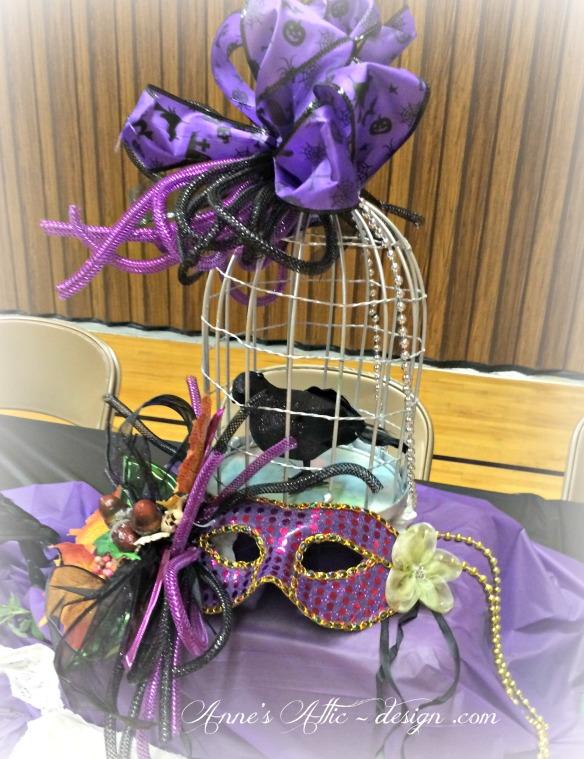 Masquerade Bird cage