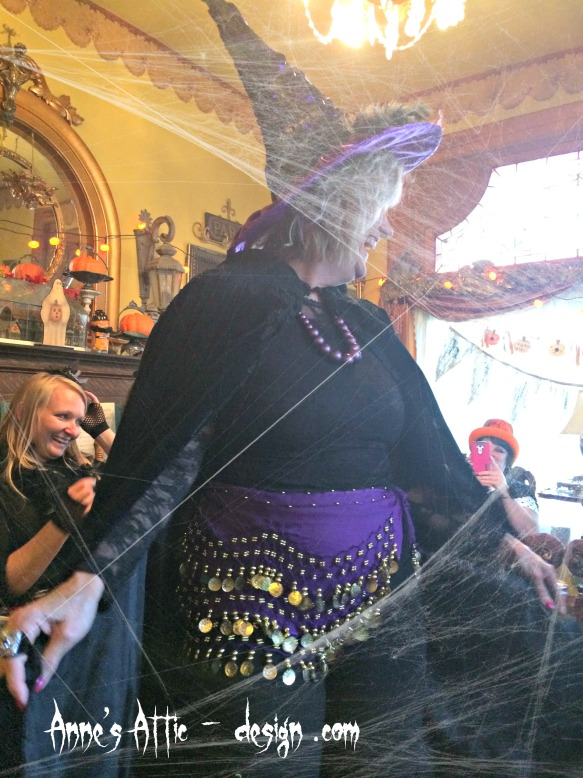 witch belly dancer