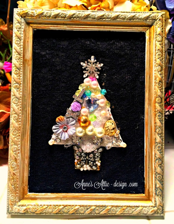 Jeweled tree black