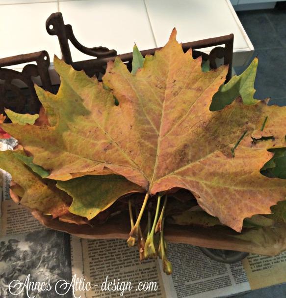 tulle leaves