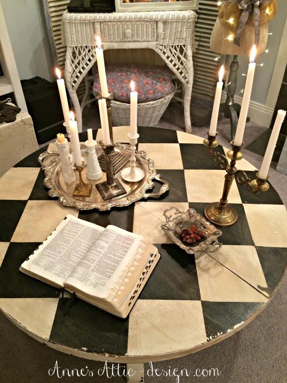 romantic coffee table