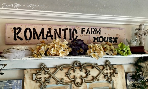 romantic farmhouse sign