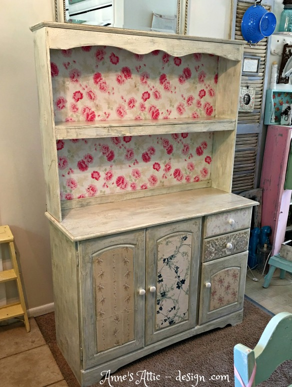 bare finished hutch