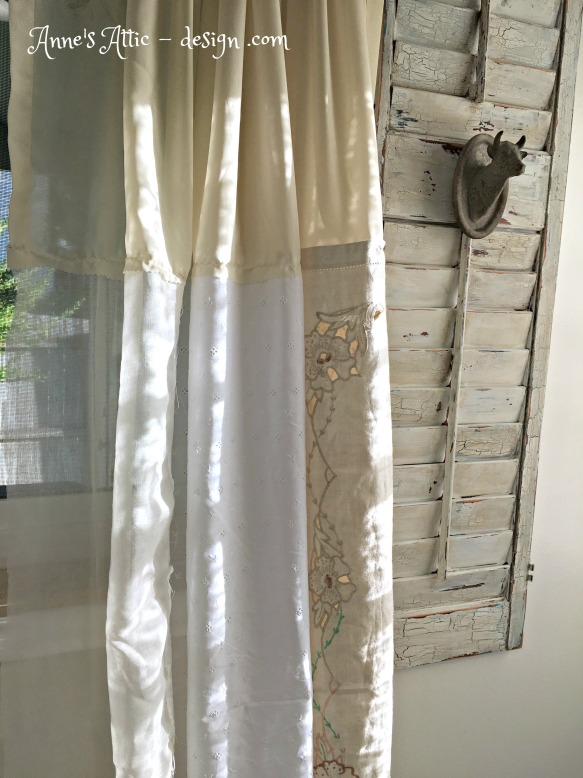 shabby curtains