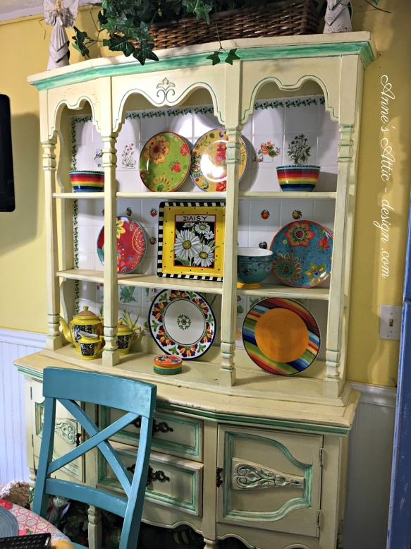 Sue's plate rack