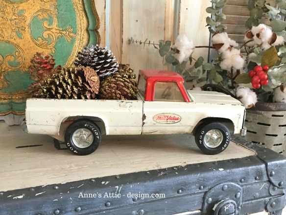 pine cone truck